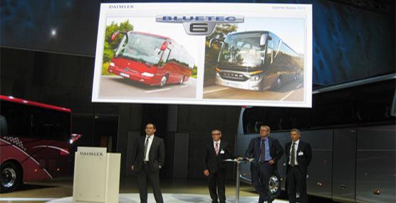 Busworld Kortrijk 2013 ya espera a los nuevos Setra TopClass 500 y Tourismo K de Mercedes-Benz