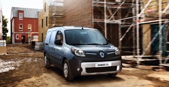 Renault presenta las novedades de sus vehículos eléctricos en Frankfurt entre los que se encuentra el Kangoo Z.E.