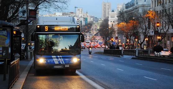 La llegada a Madrid de la Vuelta a España provoca desvíos y cortes en casi medio centenar de líneas de la EMT