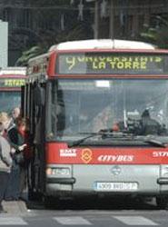 Bus de la EMT de Valencia.