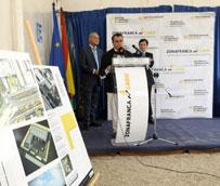Zona Franca pone la primera piedra de la nave logística del Polígono Las Salinas en El Puerto de Santa María