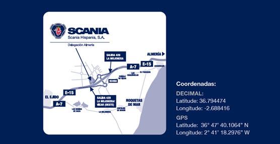 Ubicación de las nuevas instalaciones de Scania.