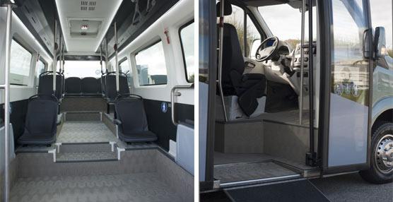 Integralia se embarca en el segmento de los minibuses para transporte urbano con un concepto diferente
