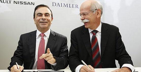 Nissan Motor Co. ampliará su asociación con Daimler AG mediante la producción de furgonetas comerciales y minibuses
