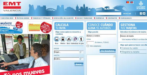 Cada día, más de 300 personas se descargan la APP de la Empresa Municipal de Transportes de Valencia