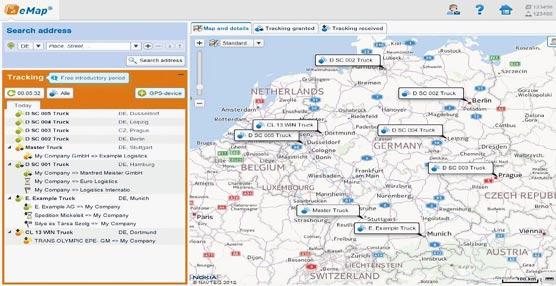 TimoCom integra en su bolsa de cargas los sistemas de gestión de flotas de Movildata y Moviloc