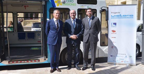 Málaga inicia Victoria, un proyectopara cargar eléctricos en movimiento y sin cables