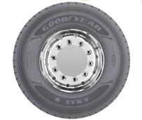Goodyear lanza las nuevas gamas de neumáticos para camión KMAX y FUELMAX para transporte regional y de largo recorrido