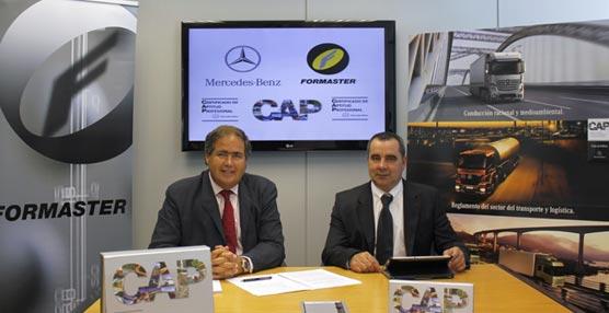 Mercedes-Benz y Formaster firman un acuerdo para la formación continua del CAP