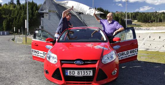 Un Ford Focus EcoBoost ha recorrido 1.619 kilómetros con un solo depósito de combustible