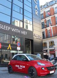 El Opel ADAM transportará a los clientes de los Hoteles Room Mate de Madrid y Barcelona