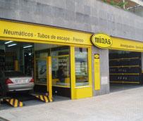 Midas abre un nuevo taller en Cataluña con una superficie de 349 metros cuadrados y cuatro elevadores