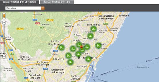 Cada vez más, los barceloneses optan por el 'carsharing' para sus desplazamientos, destaca Avancar