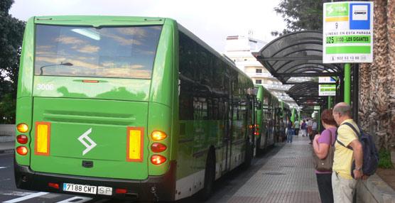 Titsa recupera el recorrido habitual de su línea 26 del servicio de autobuses de Tenerife