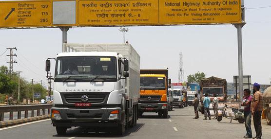 Tras un año de su lanzamiento en la India, los camiones BharatBenz encabezan el 'ranking' de matriculaciones