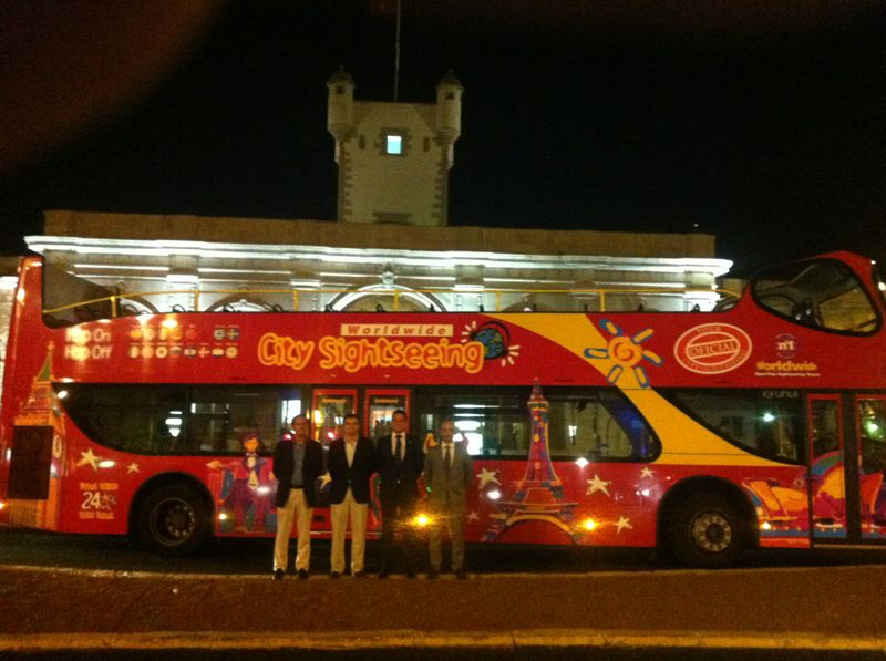 City Sightseeing presenta 'Cádiz360', su nuevo proyecto turístico con autobuses para la ciudad andaluza
