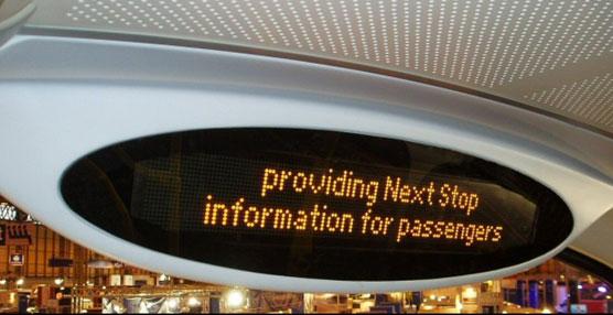 Hanover Displays presentará sus novedades tecnológicas para empresas de transporte de pasajeros