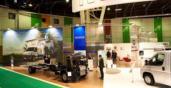 Iveco está presente en el salón de los vehículos de ocio de la ciudad de París