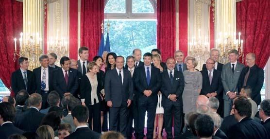ID Logistics premiada de manos del Presidente francés, François Hollande, por su