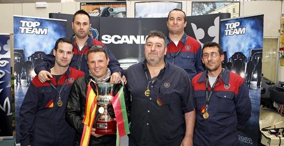 Scania Ibérica compite para ganar el premio de mejor equipo de servicios de Scania