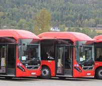 Noruega compra 17 autobuses híbridos de Volvo