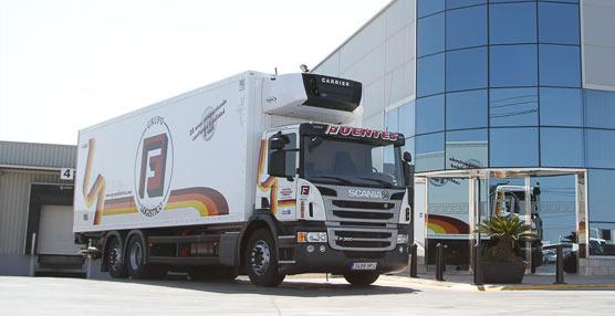 Transportes Fuentes incorpora a su flota la solución de camión integral Complet by Scania