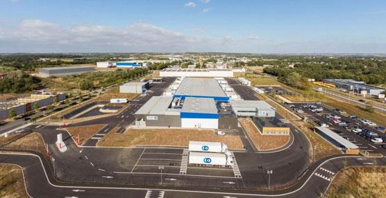 STEF abre un nuevo centro de transporte en Nantes Carquefou dedicado a las actividades de grupaje y distribución