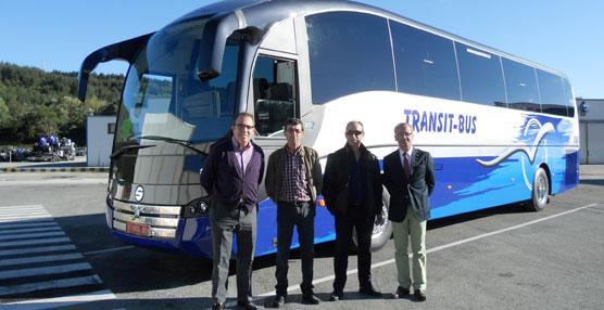 Transit Bus adquiere un SC7, carrozado sobre chasis Volvo, a la carrocera navarra Sunsundegui