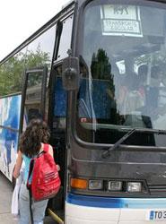 El grupo Detector desarrolla una aplicación que permitirá conocer la hora de llegada del autobús escolar