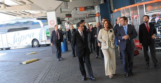Ana Botella presenta el proyecto de remodelación de la Estación Sur de Autobuses