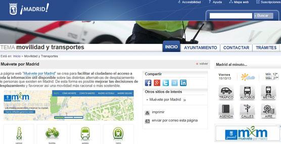 El Ayuntamiento crea una web en la que centraliza toda la información sobre las alternativas de movilidad