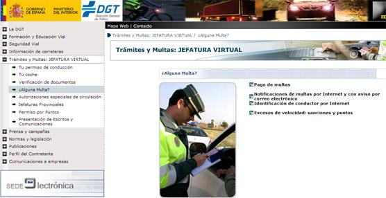 Ya está disponible el pago de tasas de Tráfico a través de Internet para facilitar la labor a los ciudadanos