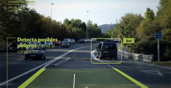 El MagicEye permite minimizar los riesgos de colisión mediante la detección y previsión de situaciones.