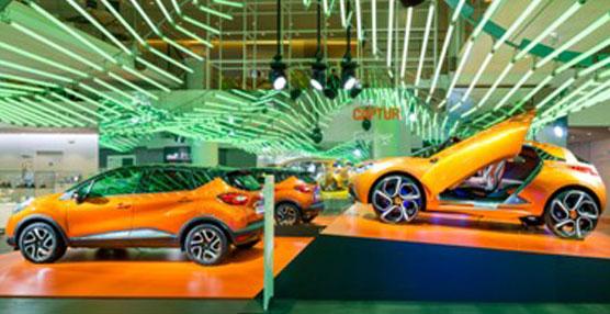 L'Atelier Renault presenta la renovación de diseño del fabricante francés en la exposición 'Manifiesto de color'
