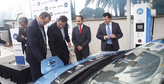 IBIL y Nissan amplían la infraestructura de carga rápida de vehículo eléctrico en Barcelona