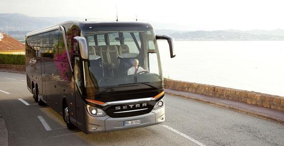 El autobús Setra TopClass 500 establece un nuevo estándar uniendo el lujo y la rentabilidad