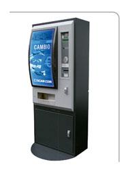 TCC del grupo MOVENTIA instala una máquina TOTEM de SCAN COIN para el cambio