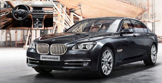 El nuevo BMW Individual 760Li Sterling, está inspirado en el fabricante de plata ROBBE & BERKING