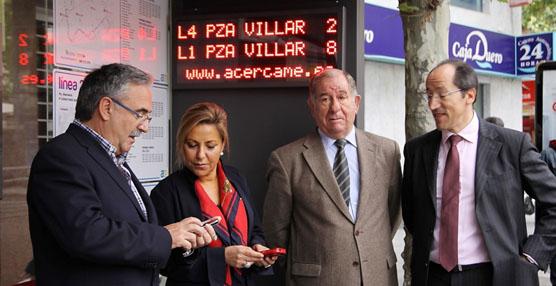 Una nueva aplicación proporciona información en tiempo real sobre el servicio de autobuses de Zamora