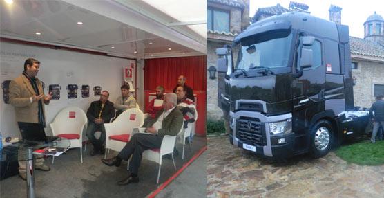 Renault Trucks continúa con las presentaciones personalizadas a los clientes nacionales de su nueva Serie T