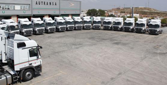 Autransa renueva su flota con 35 cabezas tractoras del modelo Actros 1848 de Mercedes-Benz