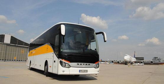 Lufthansa adquiere varios autobuses Setra ComfortClass 500 para la ruta de Estrasburgo al aeropuerto de Frankfurt