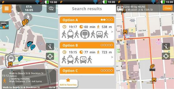 Nace 'Moovit'¨, una nueva aplicación móvil para la planificación de rutas alternativas en el transporte urbano