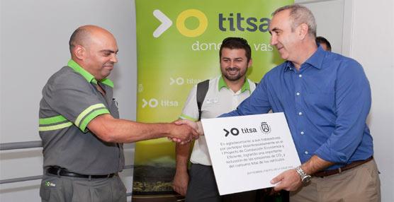Los autobuses interurbanos de Tenerife ponen en marcha la segunda fase del Plan de conducción eficiente