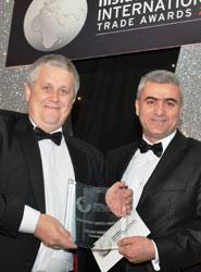 Palletways gana un premio de comercio internacional que reconoce el importante incremento de sus ventas