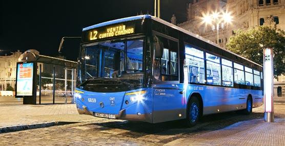 Más de 522.000 pasajeros han viajado en la nueva red nocturna de la EMT Madrid