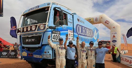 MAN Portugal consigue el primer puesto en el Rally Oilibia de Marruecos para la categoría de camiones