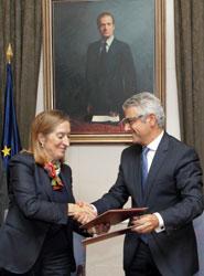 Pastor firma un protocolo de colaboración para impulsar el transporte ferroviario de mercancías en el Gran Consumo