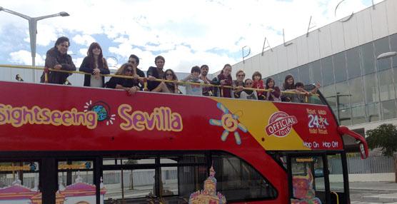 City Sightseeing Sevilla amplía su ruta hasta Fibes los días en los que haya espectáculo