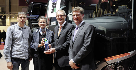 Setra recoge cinco galardones durante la feria Busworld 2013 de Bélgica